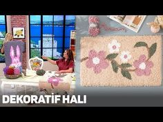 Alize Puffy Fine ile Dekoratif Halı - Decorative Rug with Alize Puffy Fine - Yo. Sisal, Jobs In Art, Plastic Canvas Stitches, Cd Crafts, Heart Wall Art, Different Stitches, Pad, Patterned Carpet, Yarn Brands