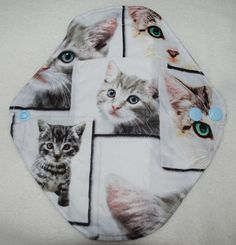 Cute Cats pantyliners 3pcs by leonorafi on Etsy