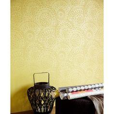 Wallpaper Suzani Fabric Wallpaper, Tile Patterns, Tiles, Sweet Home, Wallpapers, Room Tiles, House Beautiful, Tile, Wallpaper