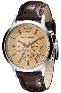 Emporio Armani Mens Watch AR2433 Classic Chronograph