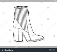 This article will allow you with your shoes and select Fashion Portfolio Layout, Fashion Design Sketchbook, Fashion Design Drawings, Fashion Sketches, Shoe Sketches, Flat Sketches, Flat Drawings, Technical Drawings, Footwear Shoes
