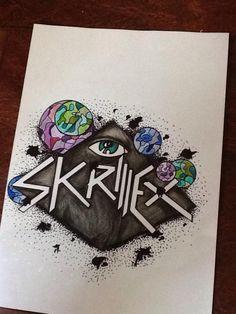 Skrillex, Logo.