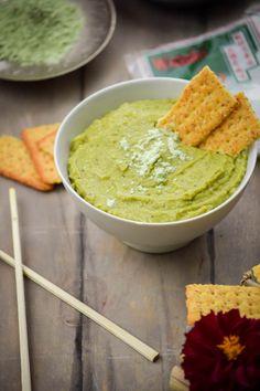 Wasabi and Sweet Pea Hummus (9)