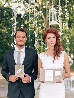 Zaproszenia ślubne rustykalne 02A/rstBIRDS/z