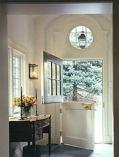 Entry-Nice now you can see the Lantern hanging outside through window inside