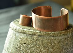 handmade engraved beautiful pure thick copper by CopperFinger