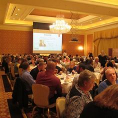 Luncheons are a wonderful tool to stay informed and also meet new people.