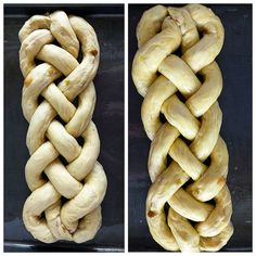 Sweet Braided Easter Bread with Raisins – Valya's Taste of Home Süßes geflochtenes Osterbrot mit Rosinen – Valya's Taste of Home – Easter Bread Recipe, Easter Recipes, Appetizer Recipes, Easter Ideas, Easter Desserts, Appetizers, Dinner Recipes Easy Quick, Quick Easy Meals, Raisin Recipes