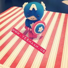 3D Super Heros Fondant Cake Toppers Hulk BatMan by YesMaamSweets, $20.99