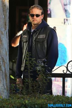 Charlie Hunnam aka Jax on Sons of Anarchy