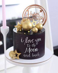 Birthday Cake For Women Elegant, Elegant Birthday Cakes, Beautiful Birthday Cakes, Birthday Cakes For Women, Cakes For Men, 22nd Birthday Cakes, Birthday Cake For Husband, Special Birthday Cakes, Chocolate Birthday Cake Decoration