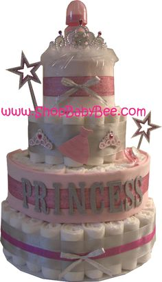 Love the diaper cake idea too Kerry. Becca had one at her shower that also included other things like receiving blankets and onesies, think.
