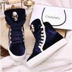 holy crud I love chanel and then chanel + these sneakers = ahhhhhhhhhhhhhhhhhhh omg