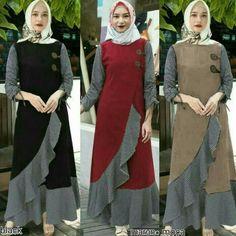 Jb CLARITA MAXY PR001 Harga : 87.000 NET Bahan : Balotelly  panjang baju : 130 cm Ukuran all size fit L   Informasi dan pemesanan hubungi kami SMS/WA +628129936504 atau www.ummigallery.com  Happy shopping   #jilbab #jilbabbaru #jilbabpesta #jilbabmodern #jilbabsyari #jilbabmurah #jilbabonline #hijab #Kerudung #jilbabinstan #Khimar #jilbabterbaru #jilbab2018 #jilbabkeren #jilbabmodis #bajumuslim #gamis #syari #maxidress #maxi #atasanwanita #atasanmuslim
