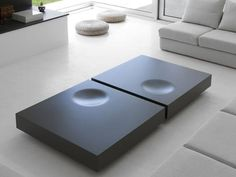 Low lacquered MDF coffee table PLAT by Kendo Mobiliario Fine Furniture, Table Furniture, Living Room Furniture, Modern Furniture, Furniture Design, Furniture Ideas, Kendo, Beton Design, Küchen Design