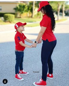 Mama and son goals