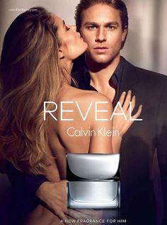 charlie hunnam calvin klein new fragrance