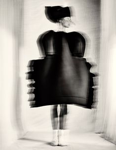 Available for sale from Pace/MacGill Gallery, Paolo Roversi, Alexandra, Tokyo Gelatin silver print, 19 × 15 in High Fashion Photography, Glamour Photography, Art Photography, Lifestyle Photography, Editorial Photography, Paolo Roversi, Magnum Opus, Print Image, Minimalist Photography