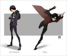 ROBIN - Dick Grayson By Kizer