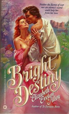 Bright Destiny by Elizabeth Evelyn Allen.  Published by Warner Books in New York, 1990.