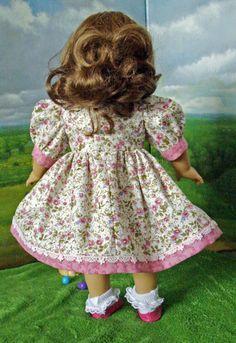 Fresh Spring Wild Rose Dress for AG Dolls by SpecialFriendsByJudy