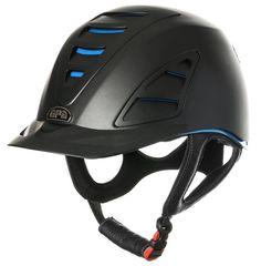 GPA Speed Air 4S REDLINE Collection Riding Helmet - Black/Blue (£375.00 Exc