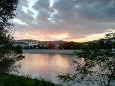 Duna a Margitszigetről.