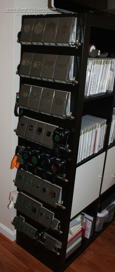 Stamp Room Punch Storage