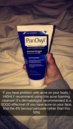 Panoxyl Acne Foaming Wash #acnebodywash,