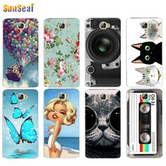 For Huawei honor 5A Case Cover Flowers Balloon Hard Plastic Cover Case For Huawei honor 5A Capa Coque Funda For Russia Verison