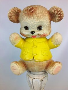 Vintage Edward Mobley giant rubber squeaky by LunchLadyVintage, $32.00