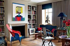 At Home with Dmitry Velikovsky in Moscow : Interiors + Inspiration : Architectural Digest