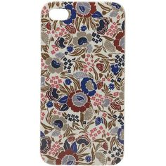 Marc by Marc Jacobs Wallpaper Floral Iphone 4 Case found on Polyvore