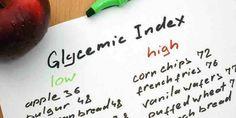 Tableaux d'indice glycémique bas, modéré et élevé des aliments