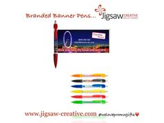 Because sometimes a pen alone isn't quite enough......unless it's a pull out banner pen of course!  #branded_banner_pens  ️️#welovepromogits❤️