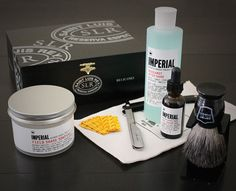 Straight razor shaving kit.  Not sure I want this one exactly, but I definitely want to see about getting stuff to do straight razor shaves in the near future.