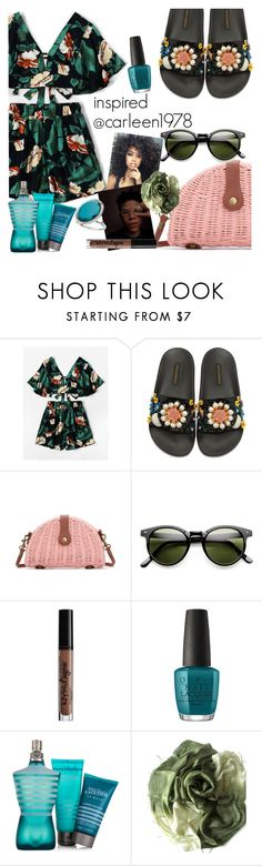 """""""inspired @carleen1978"""" by elliewriter ❤ liked on Polyvore featuring Dolce&Gabbana, Charlotte Russe, OPI, Jean-Paul Gaultier and Miss Selfridge"""