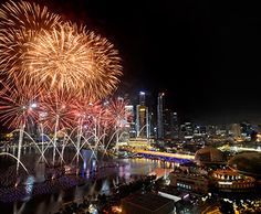 Marina Bay Singapore Countdown 2014 -  the most spectacular New Year's Eve celebrations, HAPPY NEW YEAR! ^^