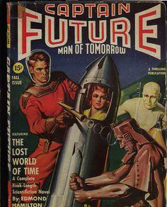 Captain Future Cover