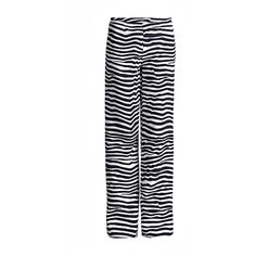 Conquista Fashion Striped Wide Leg Trousers (1,840 EGP) ❤ liked on Polyvore featuring pants, blue, striped wide leg trousers, white wide leg pants, high-waisted pants, blue striped pants and high waisted wide leg trousers