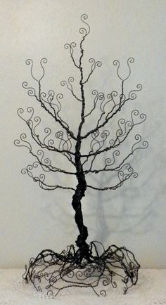 awesome black wire tree