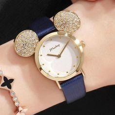 Genuine Mickey Waterproof Shape Watch