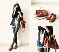 Shoes and Bag combination.