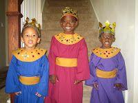 Christmas Skits, Christmas Pageant, Christmas Program, Christmas Costumes, Kids Christmas, Xmas, Nativity Costumes, Diy Nativity, Costumes