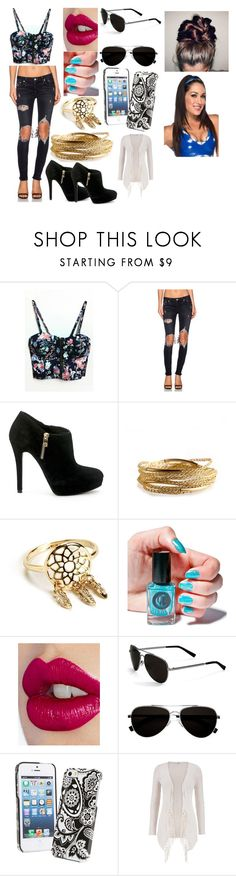 """""""Brie Bella"""" by kiara-fleming ❤ liked on Polyvore featuring Lovers + Friends, MICHAEL Michael Kors, YooLa, Cirque Colors, Charlotte Tilbury, Calvin Klein, Vera Bradley and maurices"""