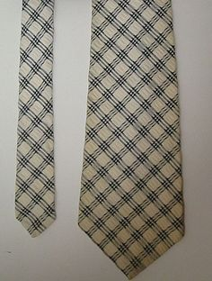 fde083b45564 Vintage Grenada by Excello Tie Blue and Ivory (Off White) Wide Read  Description #
