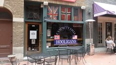 Courtyard Hooligans, the best place to catch football (or soccer) in Charlotte, NC.