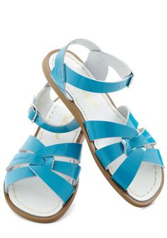 Outer Bank on It Sandal in Turquoise, #ModCloth