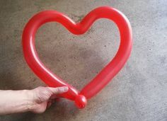 Learn to Make a Heart Out of a Balloon