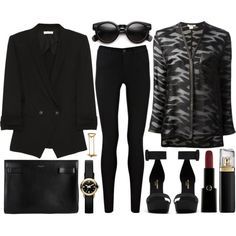 A fashion look from January 2014 featuring Helmut Lang blouses, Helmut Lang blazers and Oasis jeans. Browse and shop related looks.